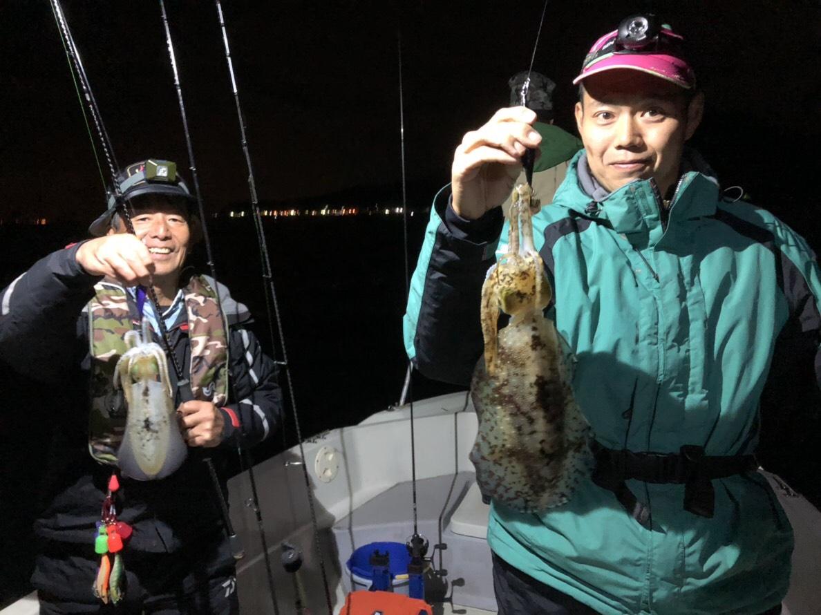 11月18日 半夜釣果