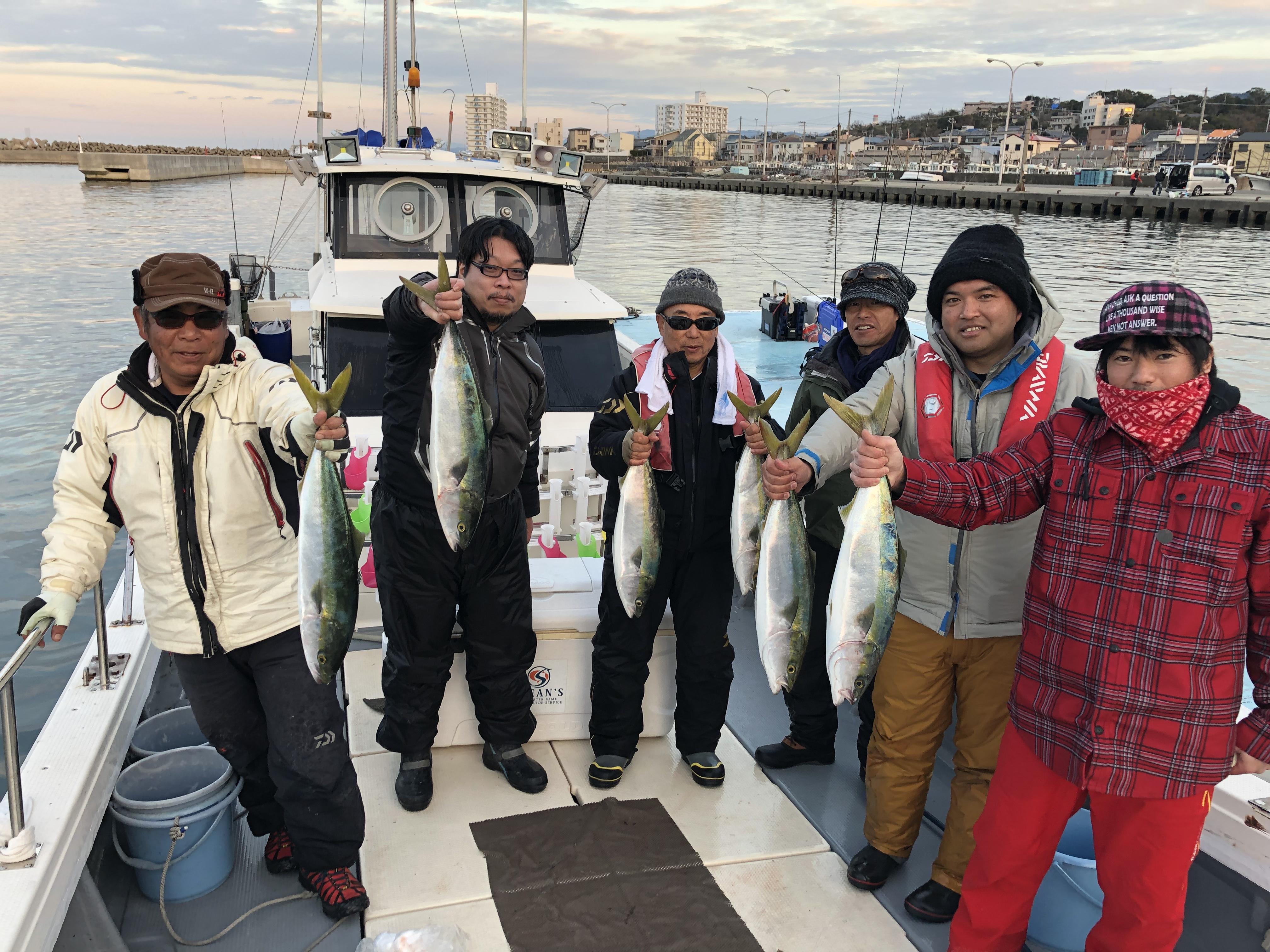 2019年初釣り 4日釣果